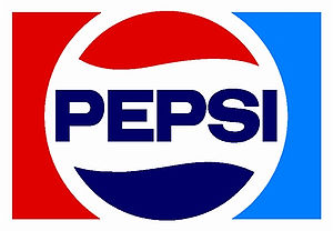 Pepsi logo (1973-87). In 1987, the font was mo...