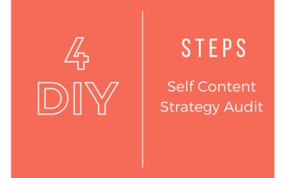 4 Step Self Content Strategy Audit