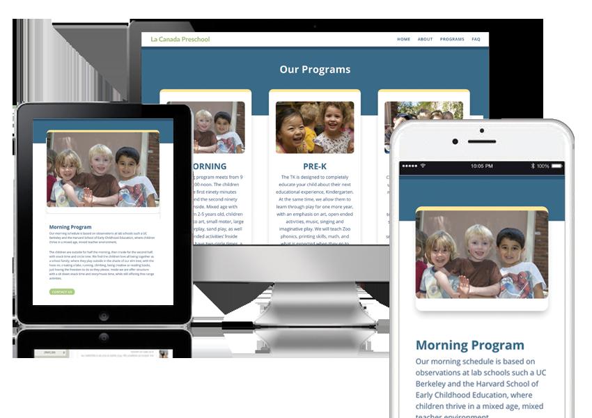 La-Canada-PreSchool_responsive-design_just-for-you